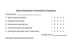 Powerpoint Presentation Evaluation Form Powerpoint Presentation Evaluation Template Smartbykrae Slusser Us