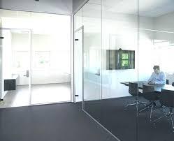glass walls cost charming sliding glass wall