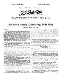 Slide Rule Library - General Knowledge