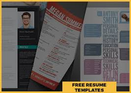 Best Free Resume Templates Gorgeous Best Free Resume Templates Around The Web Fancy Resumes