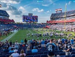 Titans Seating Chart With Rows Nissan Stadium Section 125 Seat Views Seatgeek