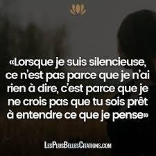Mon Silence Les Plus Belles Citations Proverbes Et Citations