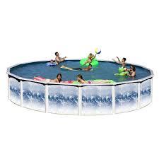heritage pools yosemite 15 ft x 52 in round pool package