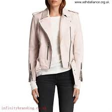 allsaints new look leather balfern biker jacket washed pink clothing uk panegyrize women s al135h87kf adhnq01358