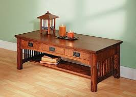 Royal Harvest Collection Three Drawer Coffee Table