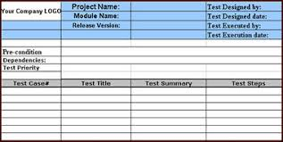 test plan template excel sample test case template with examples download software
