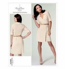 Designer Sewing Patterns Impressive V48 Vogue American Designer Tracy Reese Dress Sewing Pattern Vogue