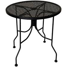 outdoor table with umbrella hole