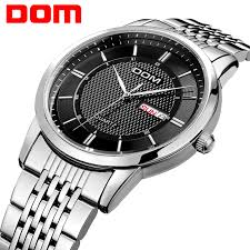 dom watch reviews online shopping dom watch reviews on dom men mens watches top brand luxury waterproof quartz stainless steel watch business reloj hombre m 11