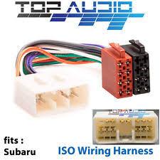 subaru wiring harness subaru iso wiring harness stereo radio plug lead wire loom connector adaptor