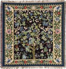 william morris tree of life throw