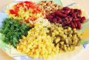 Рецепты салата с кукурузой и фасолью