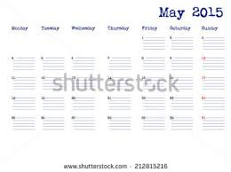 calendar for the month of may calendar month march 2015 stock vector 212815249 shutterstock