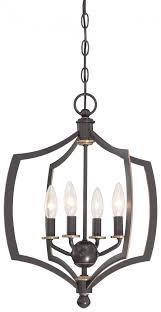 4 light mini chandelier