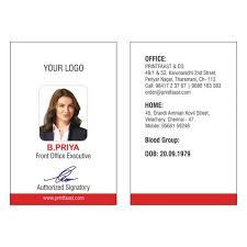Identity Card Design Id Cards Design And Printing In Chennai Printfaast Com