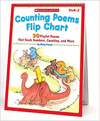 Counting Poems Flip Chart Amazon Com Counting Poems Flip Chart 20 Playful Poems That