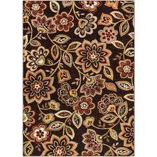 artistic weavers crete amara chocolate brown 8 ft x 10 ft indoor area rug