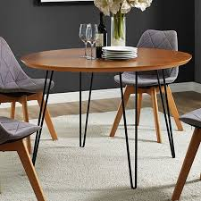 Hairpin dining table Bench Wrought Studio Chrisman Hairpin Dining Table Walmart Wrought Studio Chrisman Hairpin Dining Table Walmartcom