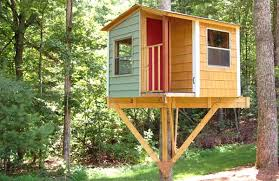 simple kids tree houses. Vibrant Design Simple Tree House Plans Astonishing Ideas To Build For Your Kids Houses G