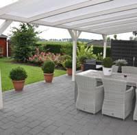 garden canopy. Polycarbonate Veranda 5m Garden Canopy