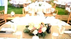 round table decoration ideas wedding dining reception simple centerpieces for tables rectangular