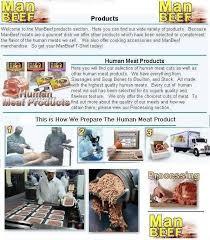 Human Meat Cuts Chart Manbeef Com 2001