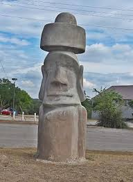 Easter island head and stonehenge ii, hunt, texas. Easter Island Statue Picture Of Stonehenge Ii Ingram Tripadvisor