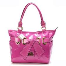 Coach Poppy Bowknot Smooth Medium Pink Totes AQT Give You The Best feeling!  Cheap Coach