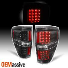 2010 F150 Rear Lights Not Working Details About Fit Black 2009 2014 Ford F150 F 150 Led Tail Lights Lamps 2010 2011 2012 2013