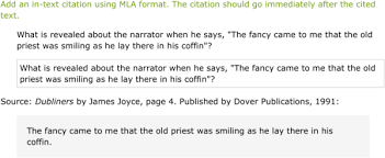Ixl Use In Text Citations With Mla Formatting 10th Grade