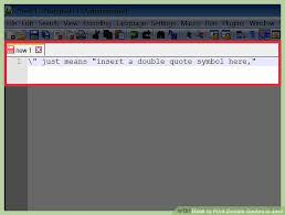 How To Create A Quotation Template New How To Print Double Quotes In Java With Pictures WikiHow