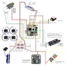 first 250 size build plz help to check connection diagram rc groups main and the only difference first diagram rx cable from d4r ii is connected to soft serial to make it work simultaneously gps and osd
