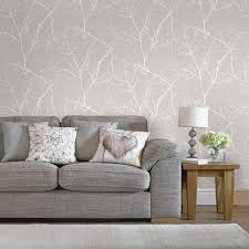 17 Best ideas about Living Room Wallpaper on Pinterest   Alcove