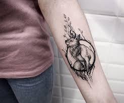 тату лиса значение символа эскизы привлекательные рисунки для