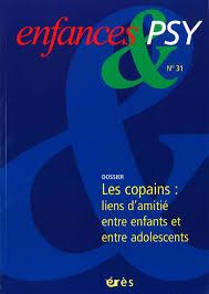 Limportance De Lamitié Entre Enfants Cairninfo