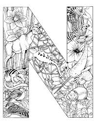 Small Picture Adult Coloring Page AZ Coloring Pages Alphabet Coloring Pages