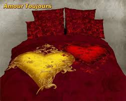 Romantic bedroom sets French Romantic Bedroom Set Red Gold Luxury Romantic Bed Set Pinterest Romantic Bedroom Set Red Gold Luxury Romantic Bed Set Beautiful