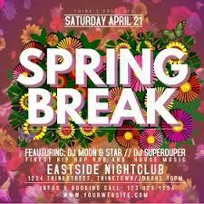 Spring Break House Party