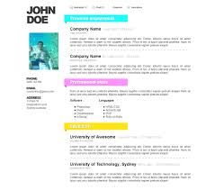 Attractive Resume Templates Free Download Styles Download Attractive Resume Templates Free Resume Formats 78