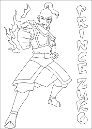 Small Picture Avatar Coloring Pages