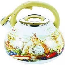 <b>Чайник эмалированный со</b> свистком, 3 л (2339133) - Купить по ...