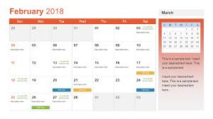 Calendar 2013 Template Calendar Templates For Powerpoint Template Free 2019 Monthly
