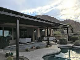 16 x 55 Alumawood Patio Cover in Scottsdale AZ Royal Covers