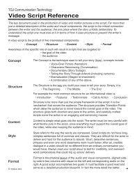Video Script Reference Tgj Communication Technology