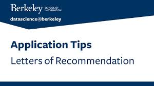 Berkeley Graduate Recommendation Letter Application Tips Letters Of Recommendation