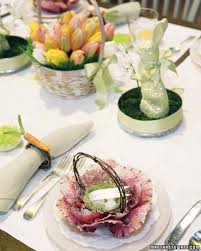Irish Table Settings Easter And Spring Centerpieces Martha Stewart