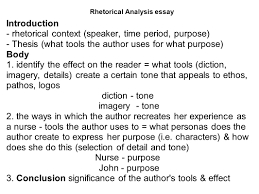 how to write a rhetorical analysis essay rhetorical analysis  how to write a rhetorical analysis essay 2 rhetorical