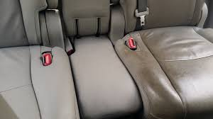 dirty leather seats