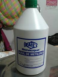 Azul De Metileno X 1 Litro Bonacqua 120 00 En Mercado Libre