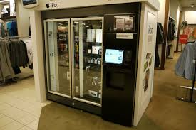 High Tech Vending Machine New Will It Vend American Vending Machine Sells IPad Other HighTech